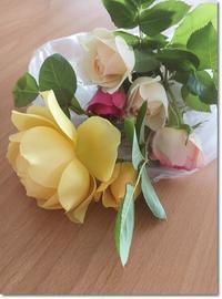 夫人の薔薇 - 静かに過ごす部屋