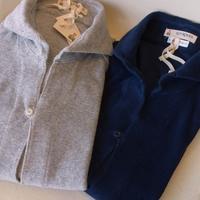 GUY ROVER(ギ・ローバー)パイルジャージカプリシャツ(ネイビー・メランジグレー) - 下町の洋服店 krunchの日記