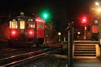 小天橋の夜 - 今日も丹後鉄道