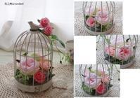 ピンク系バードゲージ☆ - お花とマインドフルネスな時間 ~花工房GreenBell~