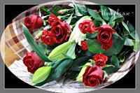 母の日の花束 ♡ - - Une phrase -