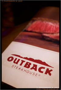 OUTBACK でたらふく肉を食らふ - TI Photograph & Jazz