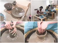 本日の陶芸教室 Vol.677 - 陶工房スタジオ ル・ポット