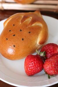 いちごクリームパン - オーブン手帖