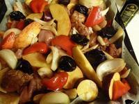 鶏肉と野菜のバルサミコ酢焼き - オリオンの瞳
