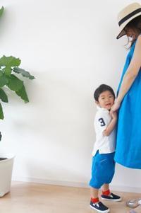 すっごく可愛いお色のワンピとズボンが出来ました!! - ハンドメイドで親子お揃い服 omusubi-five(オムスビファイブ)