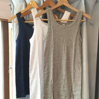 イタリア製の上質インナー HENRI リブタンクトップ - BEATNIKオーナーの洋服や音楽の毎日更新ブログ