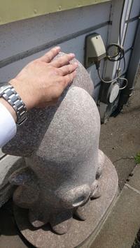 いかモニュメント、函館新パワースポット - 工房アンシャンテルール就労継続支援B型事業所(旧いか型たい焼き)セラピア函館代表ブログ