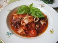 烏賊のナポリ風 - やせっぽちソプラノのキッチン2