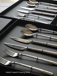 新しいカトラリー - ーAkashi Yasashii Cooking Salonー料理教室/明石/兵庫/関西