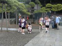 5月13日(土)岩出山中学佼すずめ踊り・・・雨の為 - 柴又亀家おかみの独り言