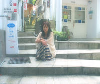 ひみつめいた温泉街の路地裏【1】  by 熊本小国町・杖立温泉 - 三恵 poem  art