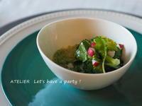 5月のレッスンスタート&「4月のテーブルコーディネート&おもてなし料理レッスン」料理1 - ATELIER Let's have a party ! (アトリエレッツハブアパーティー)         テーブルコーディネート&おもてなし料理教室