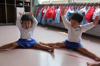 柔軟体操(たんぽぽ) - 慶応幼稚園ブログ【未来の子どもたちへ ~Dream Can Do!Reality Can Do!!~】