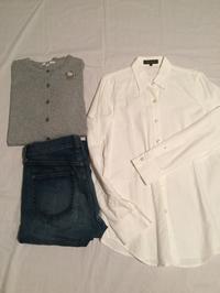 白シャツ、祖母のブローチ - めいの日々是好日