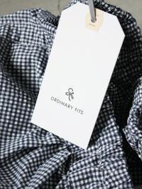 Ordinary fits BALL PANTS sucker - 【Tapir Diary】神戸のセレクトショップ『タピア』のブログです