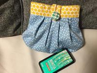 手縫いのタックのポーチ - コーヒーとハンドメイド