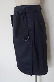 トレンチスカート2 - BurdaStyle Belted Skirt 02/2016 - - 仕立て屋の孫娘