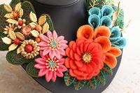 作品展示のお知らせ~ビーズアートショーAJCクリエイターズコンテスト2017作品巡回展~ - ビーズ・フェルト刺繍作家PieniSieniのブログ