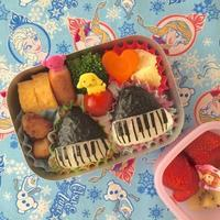 ピアノおにぎりのお弁当🎵🎵🎵 - poka_poka食堂 ~*おうちcafeごはんdiary*~