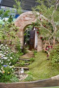国際バラとガーデニングショウ ③ - 小さな庭 2