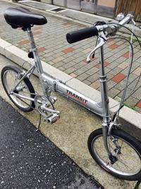 中古自転車折り畳み!BS-トランジット入荷! - 自転車屋 TRIPBIKE