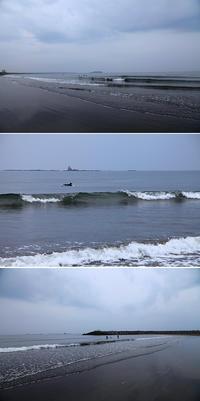 2017/05/13(SAT) シトシト雨降りの海辺です。 - SURF RESEARCH