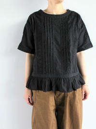GRANDMA MAMA DAUGHTER LACE GATHER BLOUSE - 『Bumpkins putting on airs』
