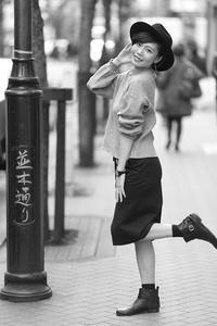 愛梨ちゃん16 - モノクロポートレート写真館