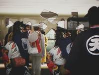 彼岸獅子が四季島をお見送り @会津若松駅。 - カメラ小僧ぷーちゃんのGRフォトダイアリー。