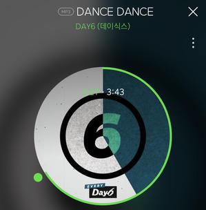 DAY6/DANCE DANCE 歌詞・和訳 - Every DAY6 May - ドンドンな日々