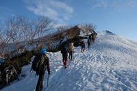 まずは爺ヶ岳へ - Ryu Aida's Photo