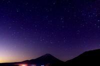29年5月の富士(5)星空の富士 - 富士への散歩道 ~撮影記~
