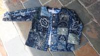 型染め ジャケット - 古布や麻の葉