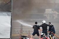横浜消防出初式2017 消防総合訓練 2 - mystically photograph