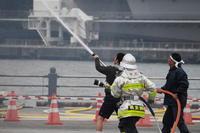 横浜消防出初式2017 消防総合訓練 3 - mystically photograph