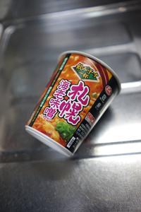エースコック 「飲み干す一杯札幌海老味噌ラーメン」を食べる - Quetzalcóatl 2