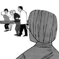 挿し絵の仕事「週間金曜日 脳梗塞サバイバー が考える患者支援ガイド 05」5/12号 2017年 - yuki kitazumi  blog