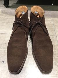 【Crockett&Jones】梅雨に備えて② - 銀座三越5F シューケア&リペア工房<紳士靴・婦人靴・バッグ・鞄の修理&ケア>