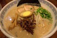 濃厚豚骨らーめん 麺家まるいち - 京都ときどき沖縄ところにより気まぐれ