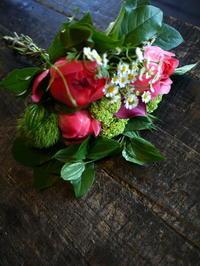 四十九日の花束。2017/05/12。 - 札幌 花屋 meLL flowers