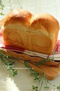 生イーストの湯種山食&オブラートアートパン&薔薇♪ - komorebi*
