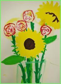 5/14 子供アート教室 ~母の日に花を描く~ - miwa-watercolor-garden