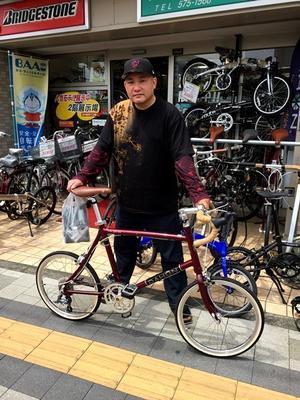 DAHON:2017´モデル Dash Altena(ダッシュ アルテナ)ご購入頂きました。 - カルマックス タジマ -自転車屋さんの スタッフ ブログ