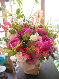 芍薬の季節がやっぱり好き! - ルーシュの花仕事