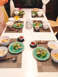 先週の薬膳アドバイザー&インストラクタークラス♪ - 大阪薬膳 Jackie's Table  おもてなし料理教室