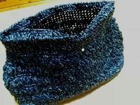 エコアンダリヤ 黒のハンドバッグ(製作中) - Atelier-gekka ハンドメイドのおはなし