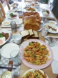 今日の教室 - 手作りパン・料理教室(えぷろん・くらぶ)