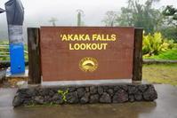 ハワイ旅行 2日目4月30日ハワイ島周遊観光 8 アカカの滝 - Let's Enjoy Everyday!