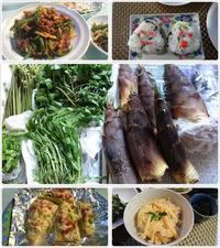 山菜料理で楽しみました^^ - 気ままな食いしん坊日記2